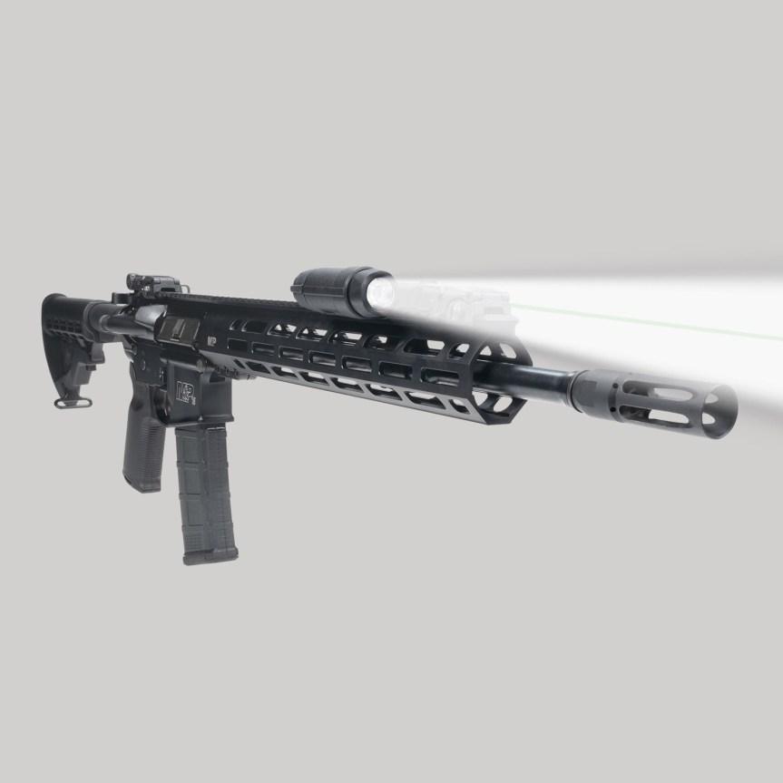 crimson trace cmr-301 railmaster laser and light ar15 2
