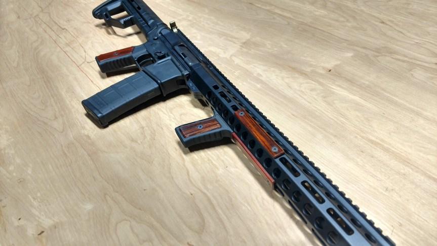 indignant arms streamline accented AR15 grips wood ar15 grip 4.jpeg