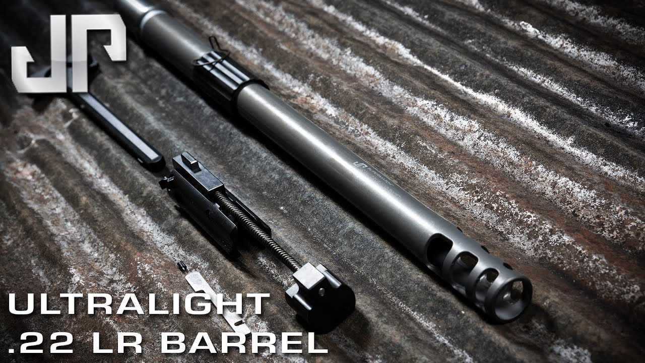 JP ENTERPRISES DEBUTS NEW ULTRALIGHT .22LR BARREL