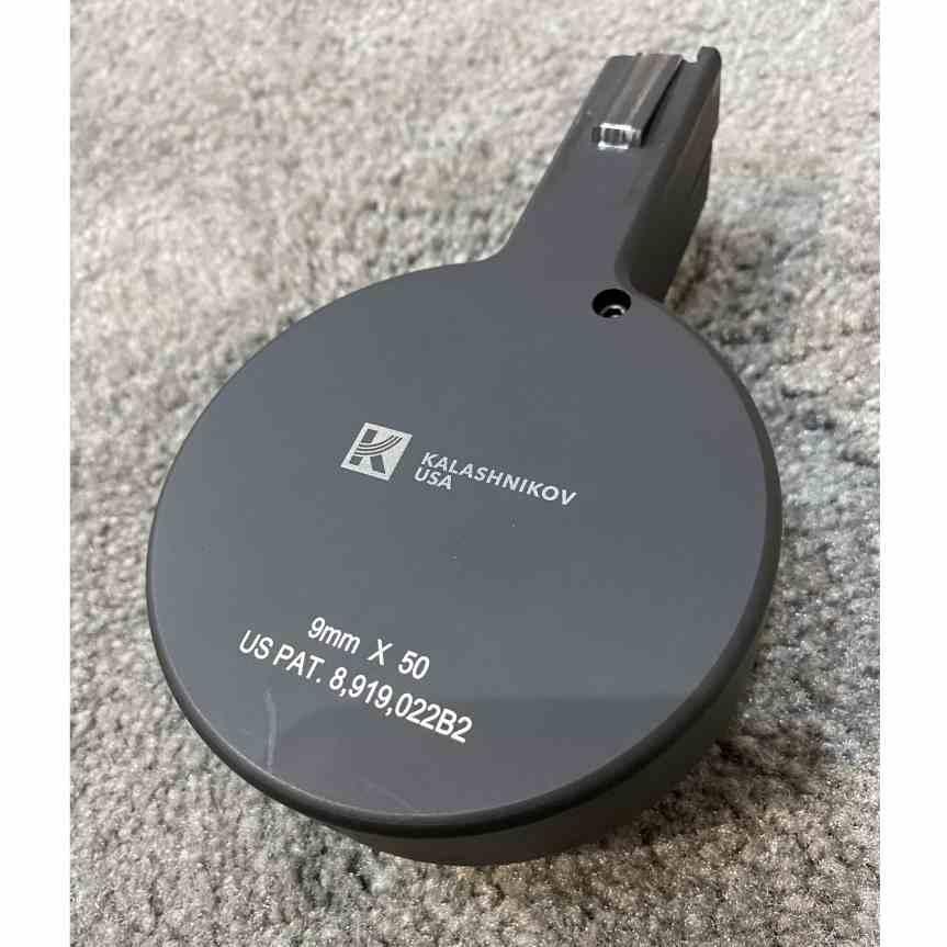 kalashnikov usa KR9MAG50-F5 9mm drum mag f5 manufacturing 3