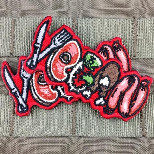 violent little machine shop carnivorous vegan morale patch 2.jpg