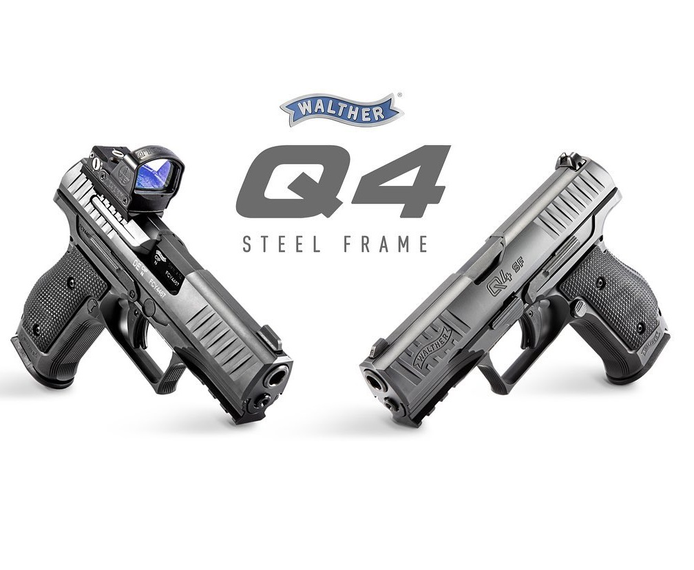WALTHER ARMS INTRODUCES THE WALTHER Q4 STEEL FRAME HANDGUN