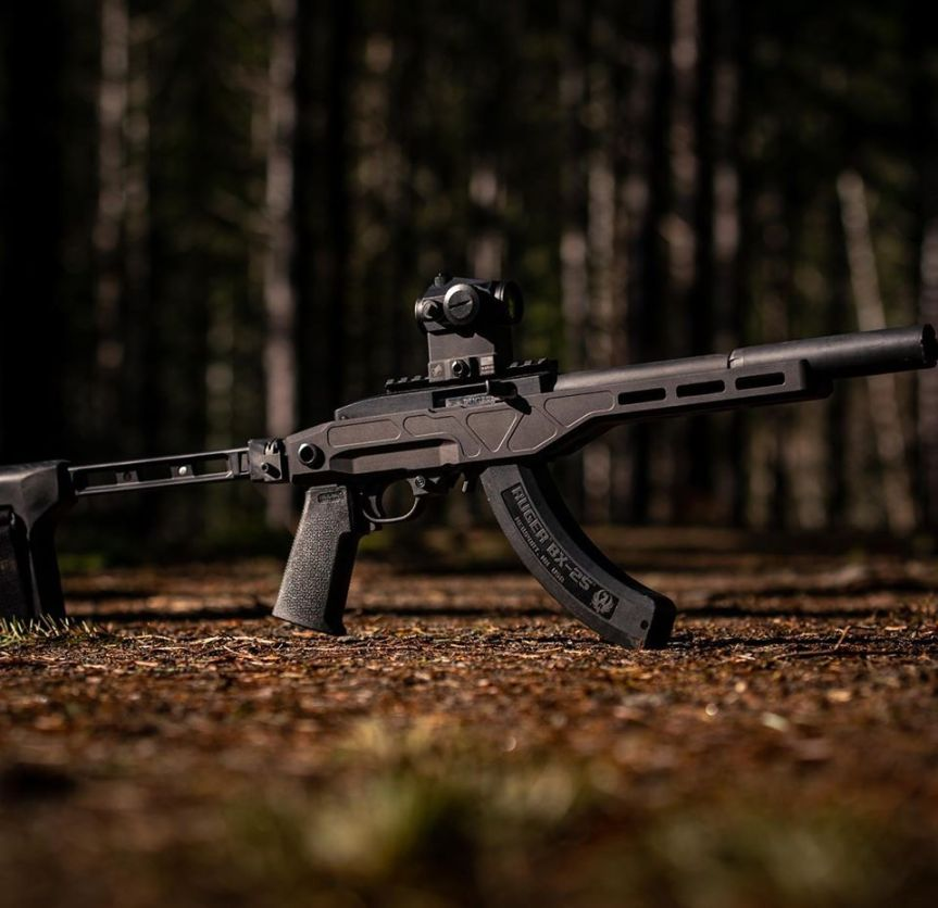 enoch industries deep six chassis system ruger 1022 chassis a