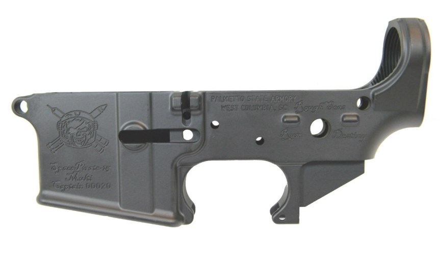palmetto state armory psa ar15 spacepirate-15 stripped ar lower receiver 1