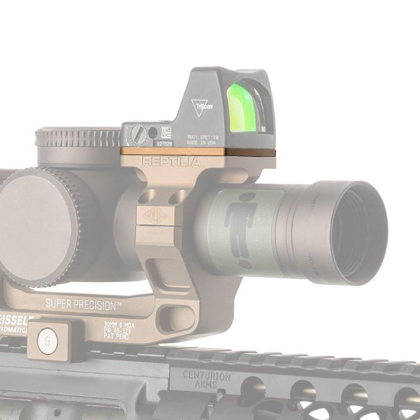 reptilia corp fde rof-riser 2.5mm trijicon rmr 1