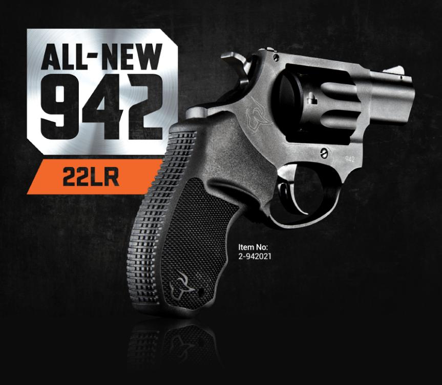 taurus 942 22lr revolver 7-25327-61828-7 2-942021 a