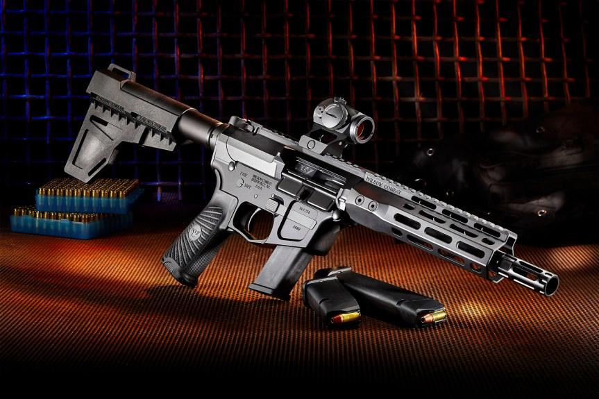 wilson combat ar9x ar-9 9mm pistol caliber carbine 1