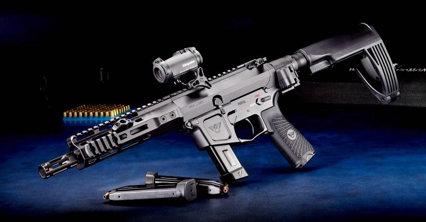 wilson combat ar9x ar-9 9mm pistol caliber carbine 9