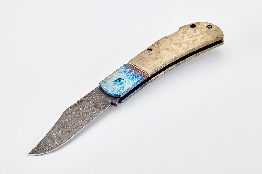 wilson combat damascus combat clip michael vagnino custom alliance knife 3