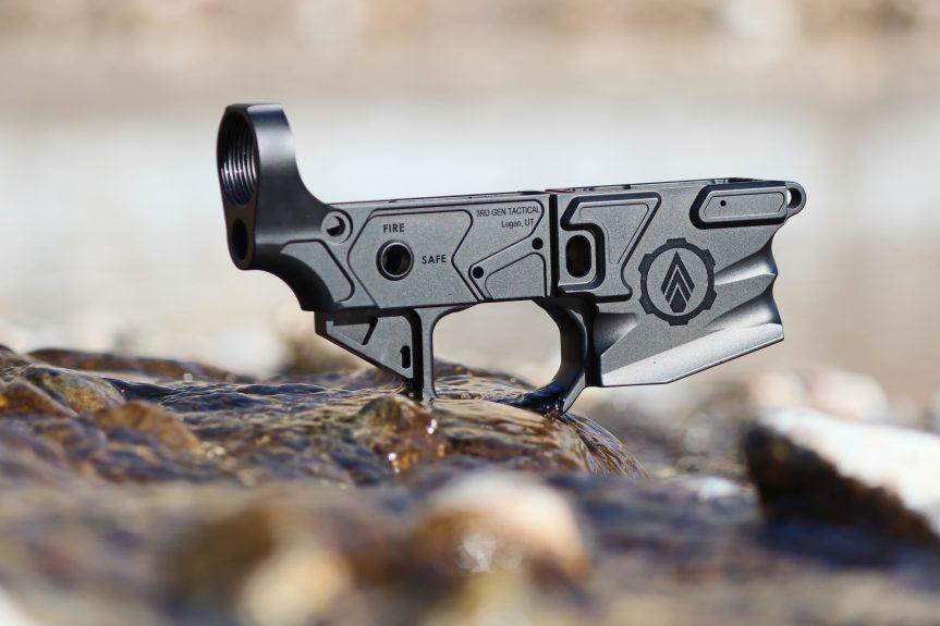 3rd gen tactical humboldt AR15 stripped lower billet ar15 lower 1