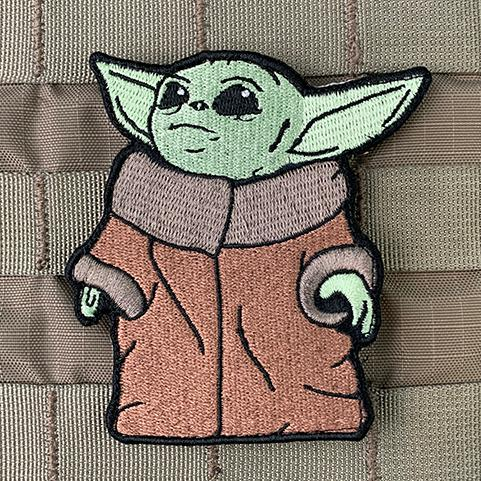 "VIOLENT LITTLE MACHINE SHOP SHOWS OFF ""THE CHILD"" – BABY YODA V2 MORALE PATCH"