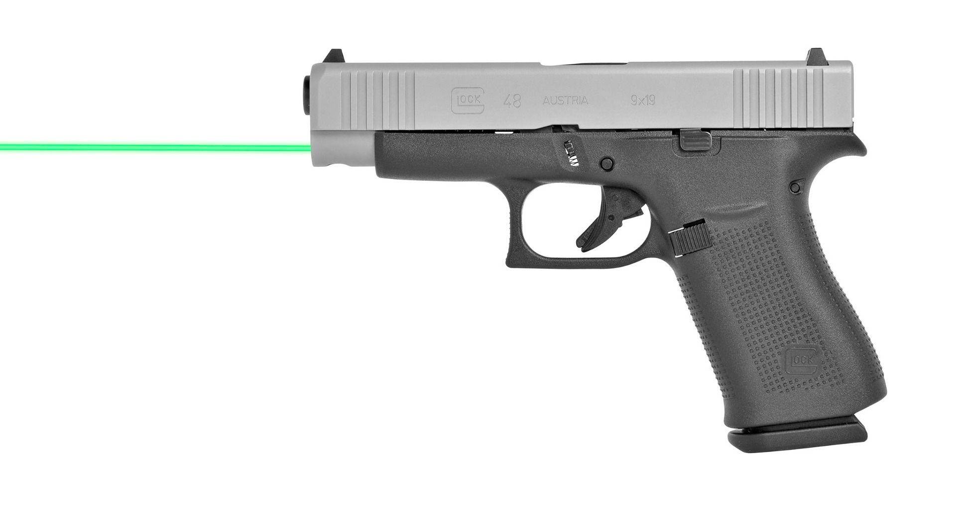 LASERMAX SHOWS SUPPORT FOR GLOCK SLIMLINE PISTOLS WITH NEW GREEN GUIDE ROD LASER