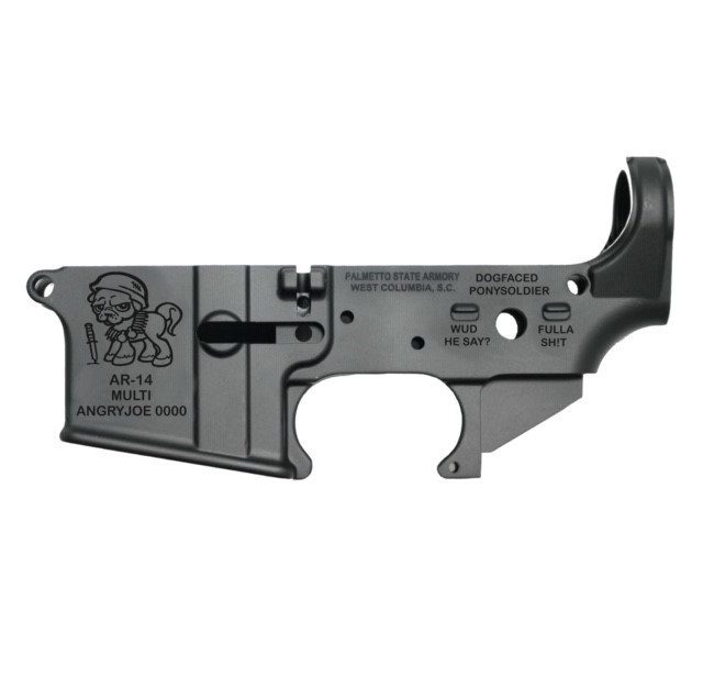 palmetto state armory psa angryjoe-14 stripped ar15 lower receiver joe biden freak out 1