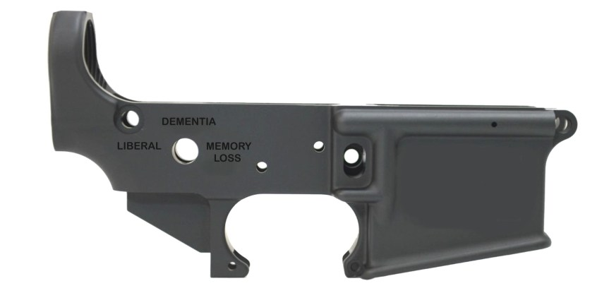 palmetto state armory psa angryjoe-14 stripped ar15 lower receiver joe biden freak out 2