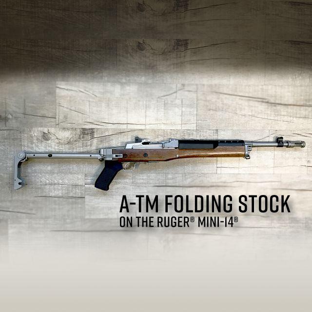 samson manufacturing ruger A-tm folding stock mini-14 mini 30 folding stock 1