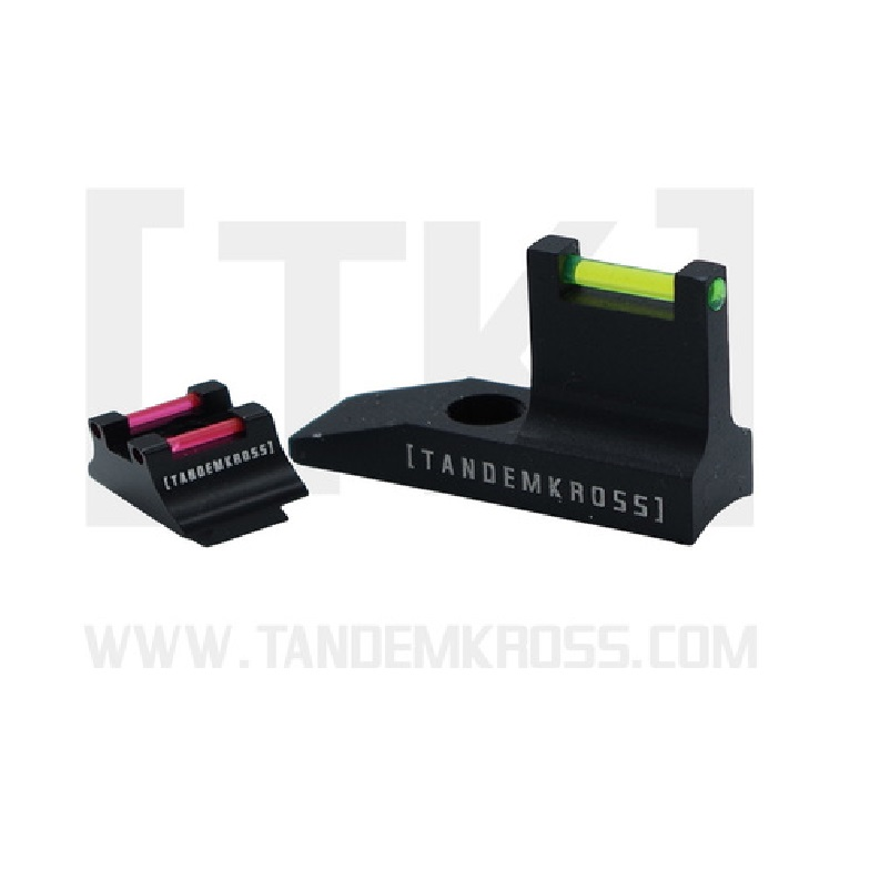 "TANDEMKROSS RELEASES NEW ""EAGLE EYE"" FIBER OPTIC SIGHT SET FOR THE RUGER PC CARBINE"