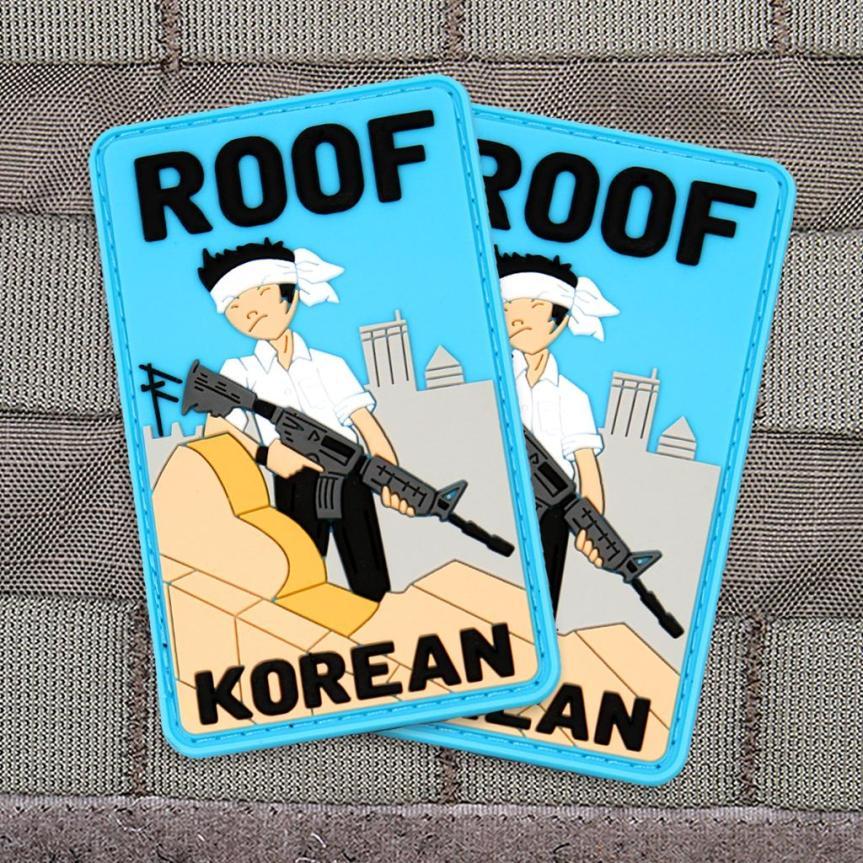 Violent Little Machine Shop morale patch roof top koreans morale patch edc range bag 2