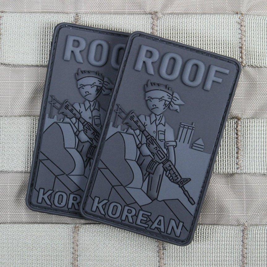 Violent Little Machine Shop morale patch roof top koreans morale patch edc range bag 4