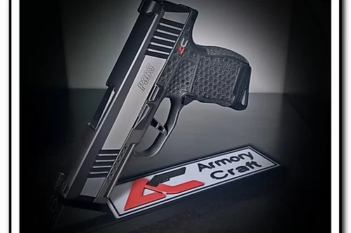 armory craft sig p365 extended magazine button 9mm 5