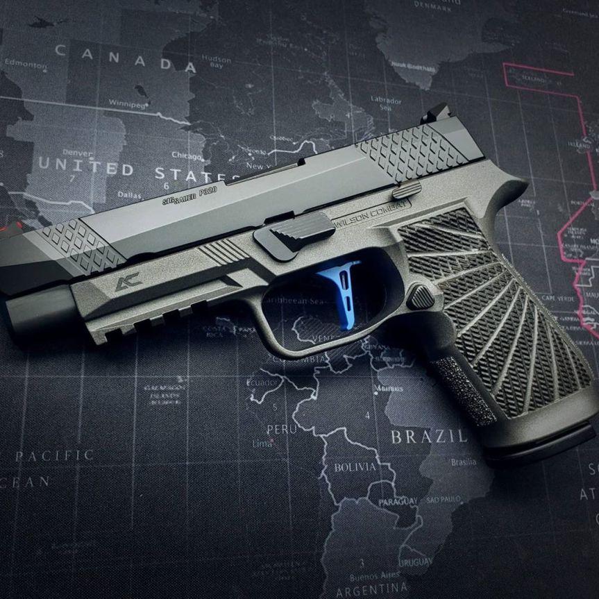 armory craft sig sauper p320 flat triiger adjustable sig p320 x5 legion m17 m18 trigger 9mm 1a