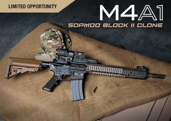 DANIEL DEFENSE RELEASES LIMITED EDITION M4A1 SOPMOD BLOCK II CLONE
