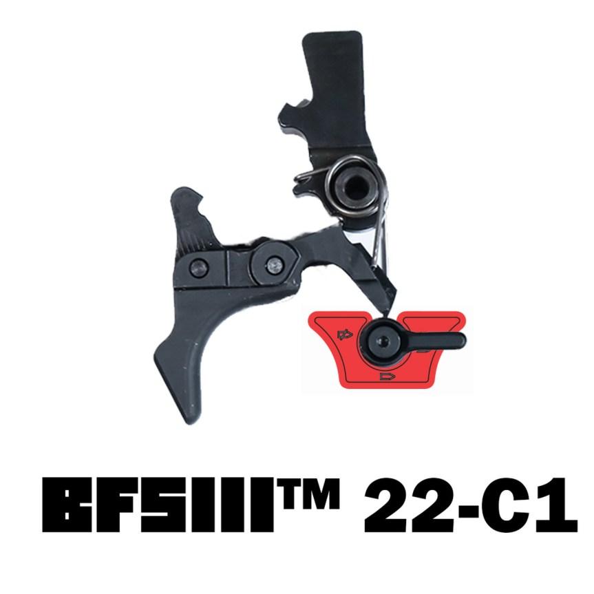 franklin armory binary trigger bfsiii 22-c1 ruger 10 22 binary trigger bump fire 1
