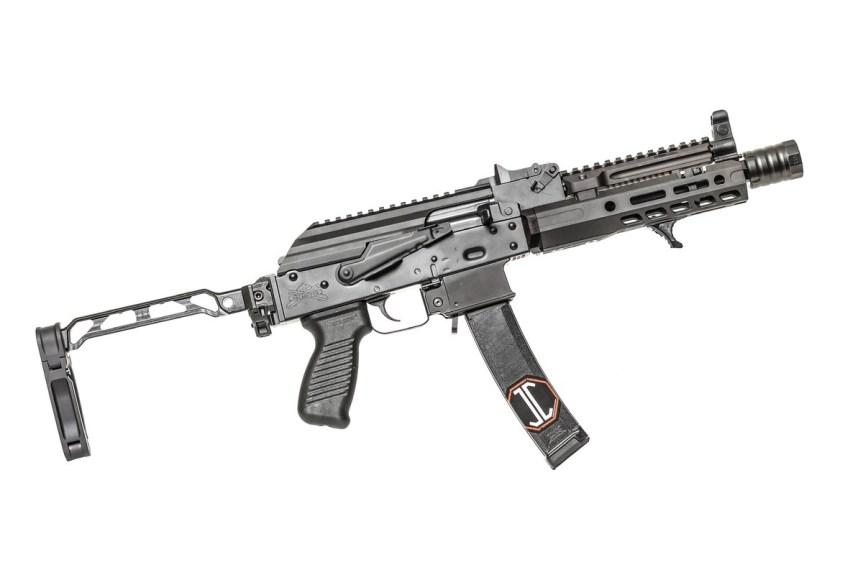 jmac customs ab-8r arm bar pistol brace ak brace folding picatinny stock mount 3