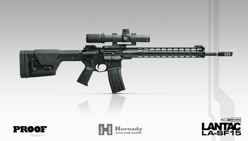 lantac usa 6mm arc rifle la-sf rifle hornady 6mm arc 1