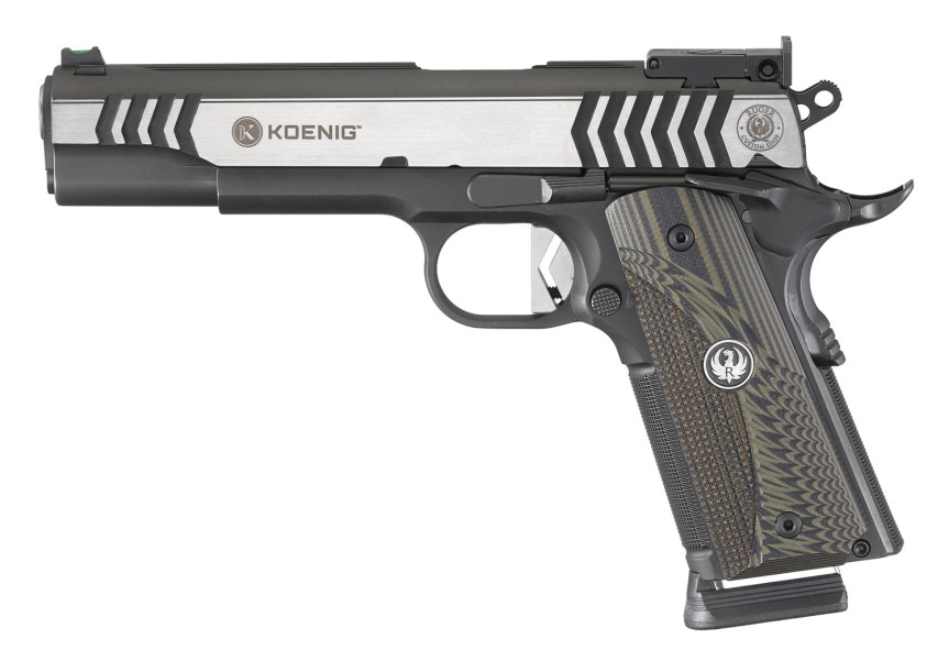 ruger custom shop 1911 competition pistol 6776 45 acp 1911 3