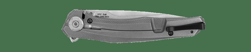 zero tolerance knives frame lock flipper knife edc pocket knife zt 0707 2