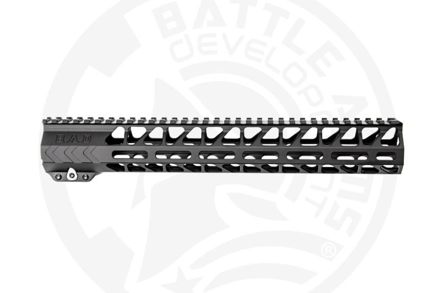 battle arms development 13 inch ar15 handguard mlok 2