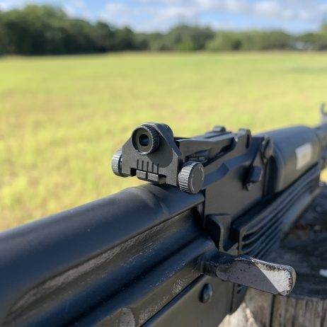 KNS PRECISION ROLLS OUT NEW FULLY ADJUSTABLE AK PATTERN REAR SIGHTS