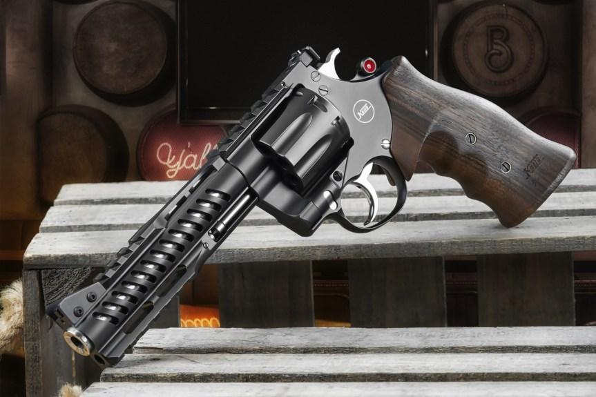 nighthawk custom korth revolvers nxs 8 shot 357 magnum 9mm wheel gun 1
