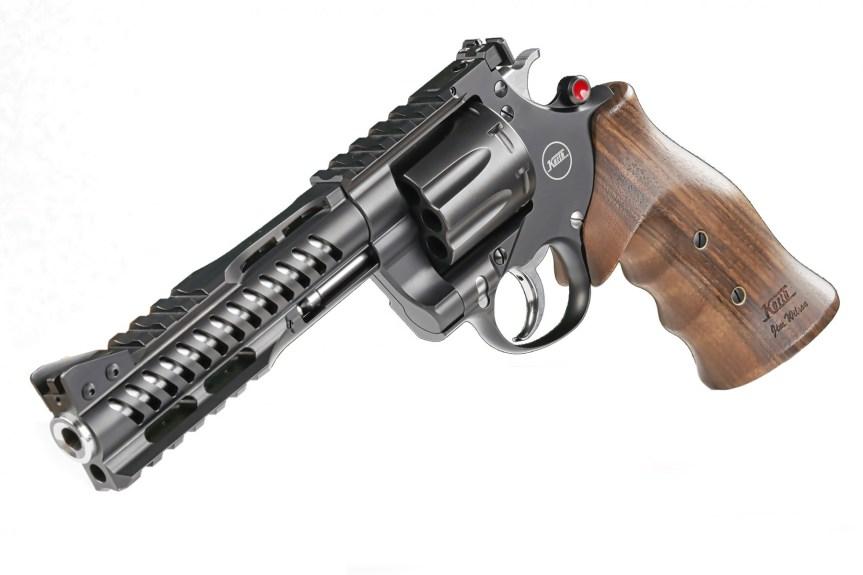 nighthawk custom korth revolvers nxs 8 shot 357 magnum 9mm wheel gun 3