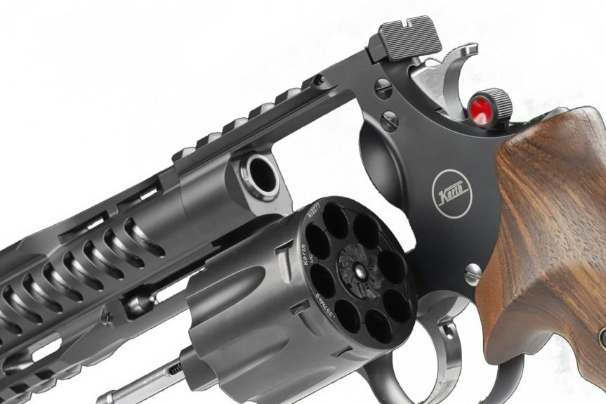 nighthawk custom korth revolvers nxs 8 shot 357 magnum 9mm wheel gun 4