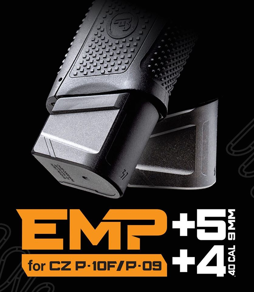 STRIKE INDUSTRIES SHOWS SUPPORT FOR CZ WITH NEW P-10F MAGAZINE EXTENSIONS