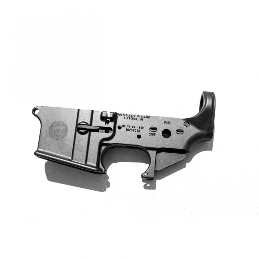 trailblazer firearms ar-15 ar15 stripped lower receiver 556 223 multi caliber 1