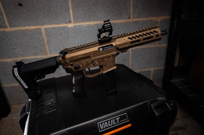 anstadt arms udp-9 ar-9 pistol pcc pistol caliber carbine 9mm 3