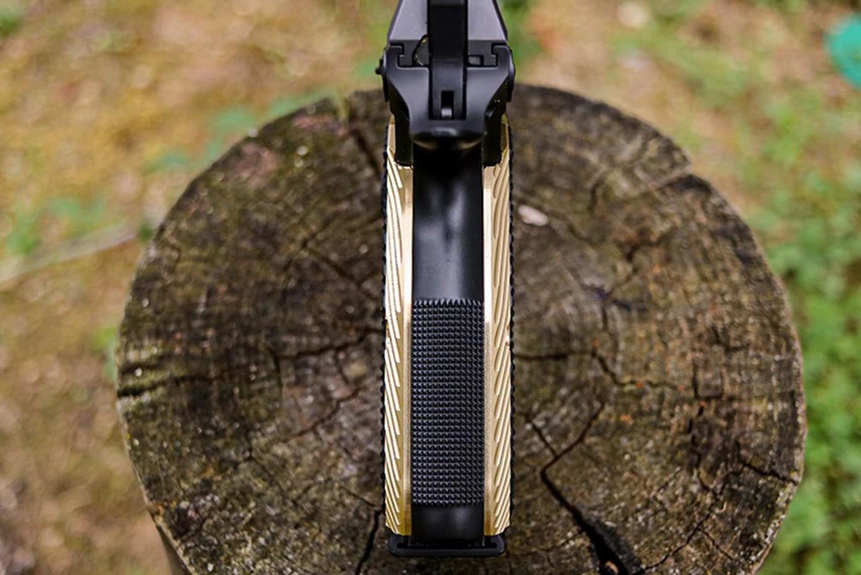 lok grips cz shadow 2 g10 grips brass grips for cz fullsize pistol 9mm