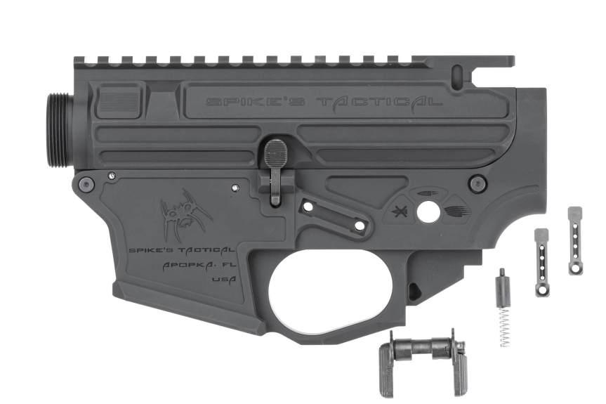 spikes tactical ar-9 9mm pistol caliber carbine ar-15 9mm 6