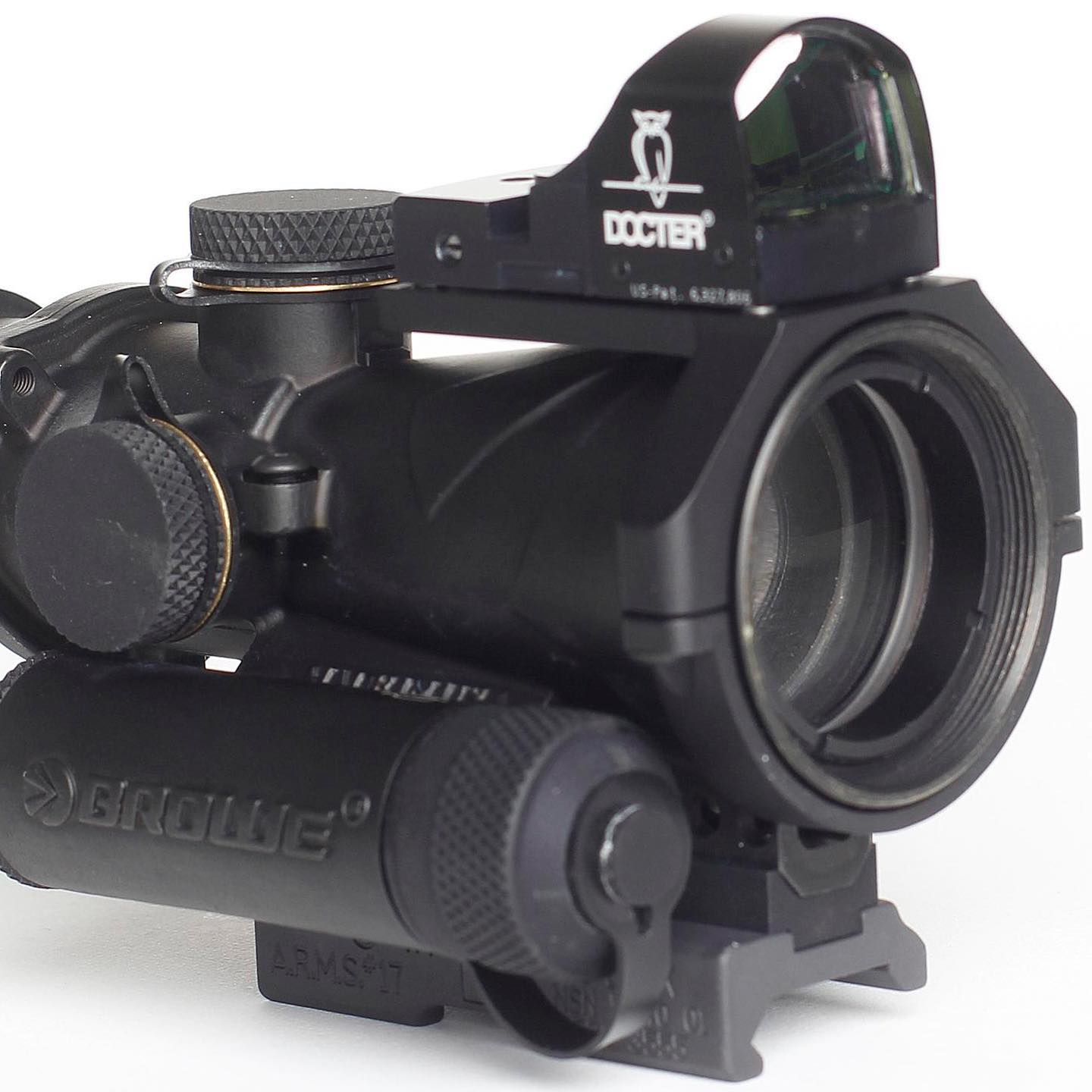 browe inc mini red dot mount for bro bco combat optic red dot