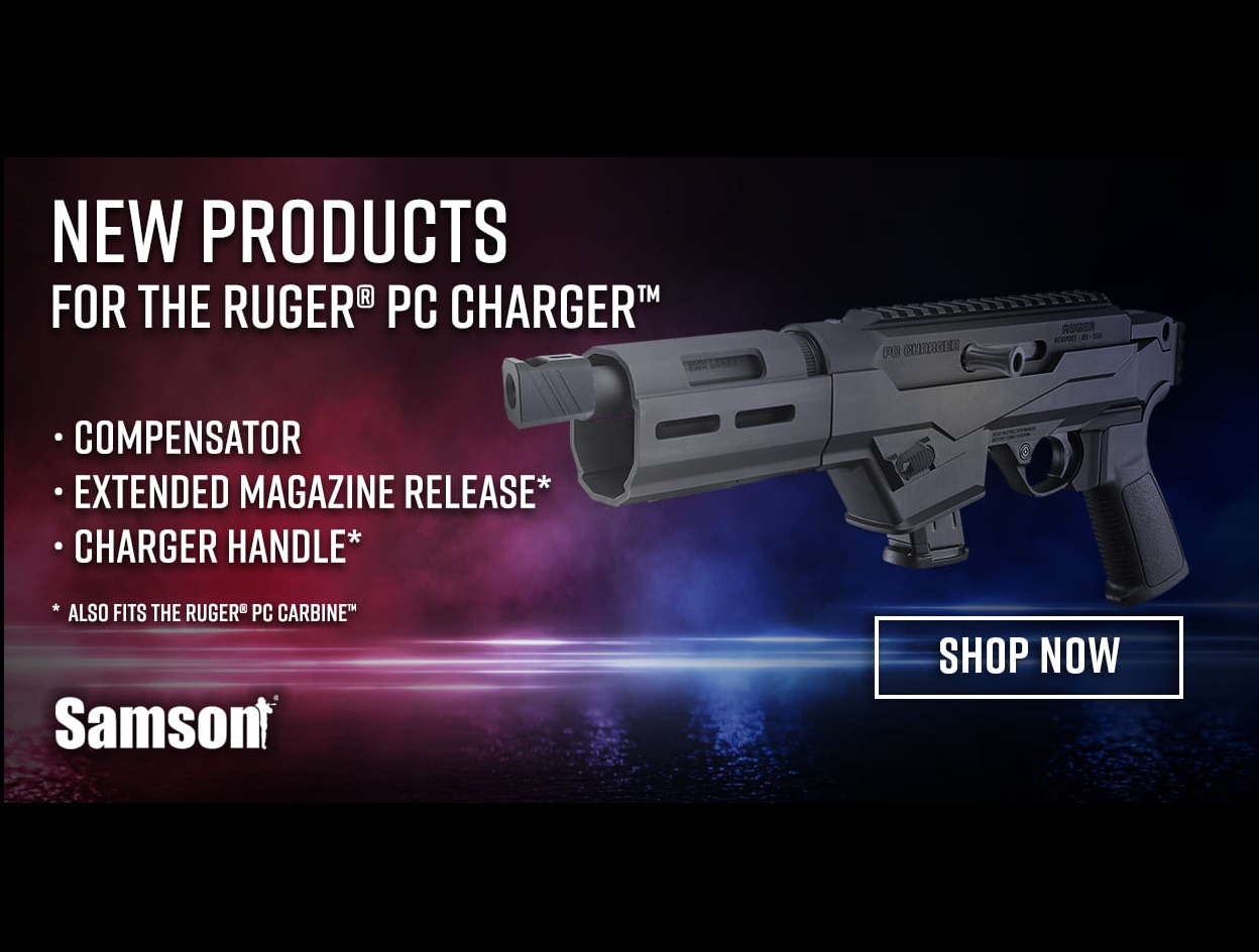 SAMSON MANUFACTURING EXPANDS SUPPORT FOR THE RUGER PC CHARGER