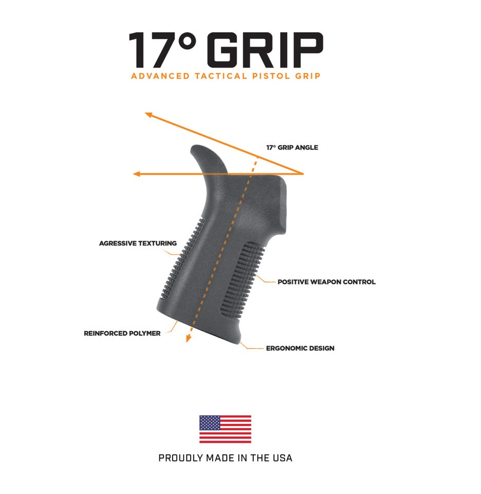 TRNITIY FORCE LAUNCHES NEW 17 DEGREE AR-15 GRIP