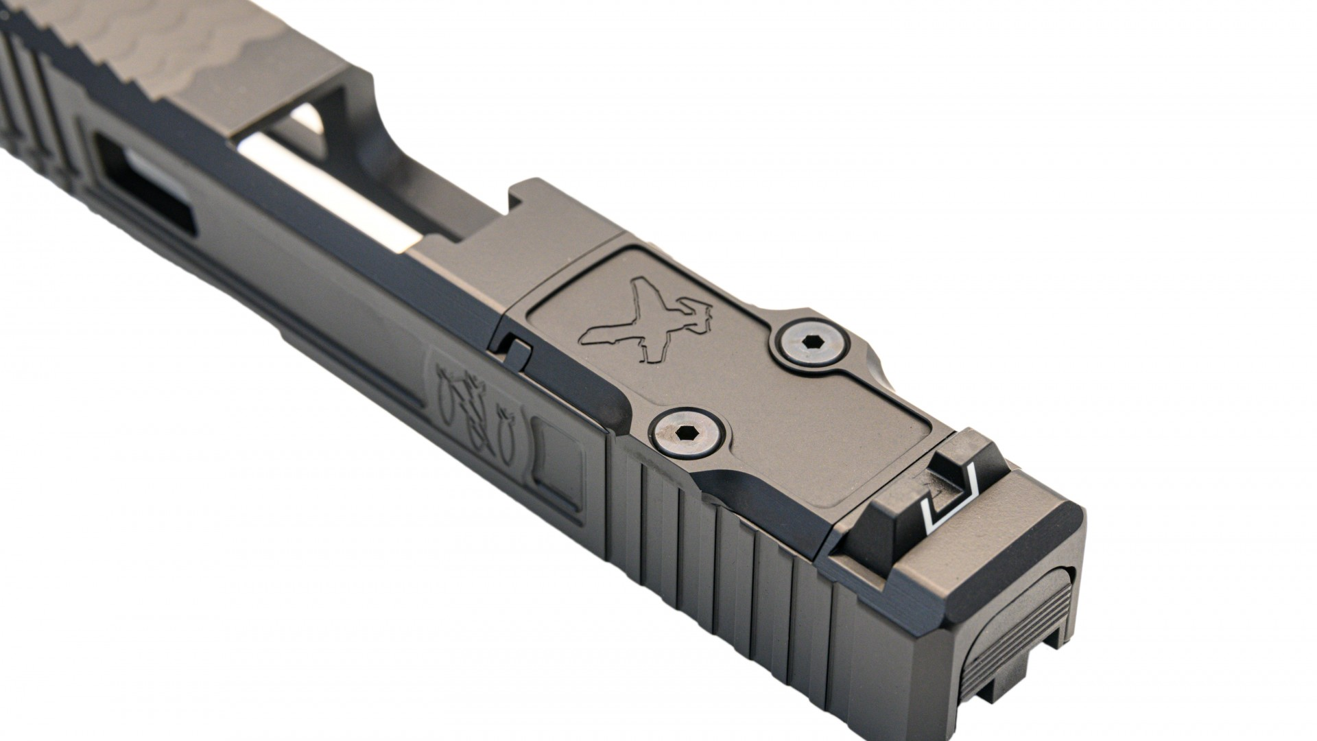 danger close armament trijicon rmr glock custom slide cut red dot