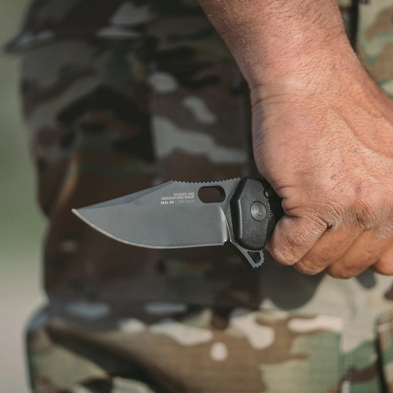 SOG KNIVES DEBUTS THE SEAL XR FOLDER KNIFE