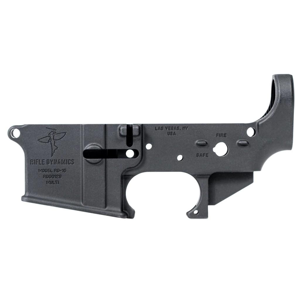 rifle dynamics ar-15 ar15 stripped lower receiver