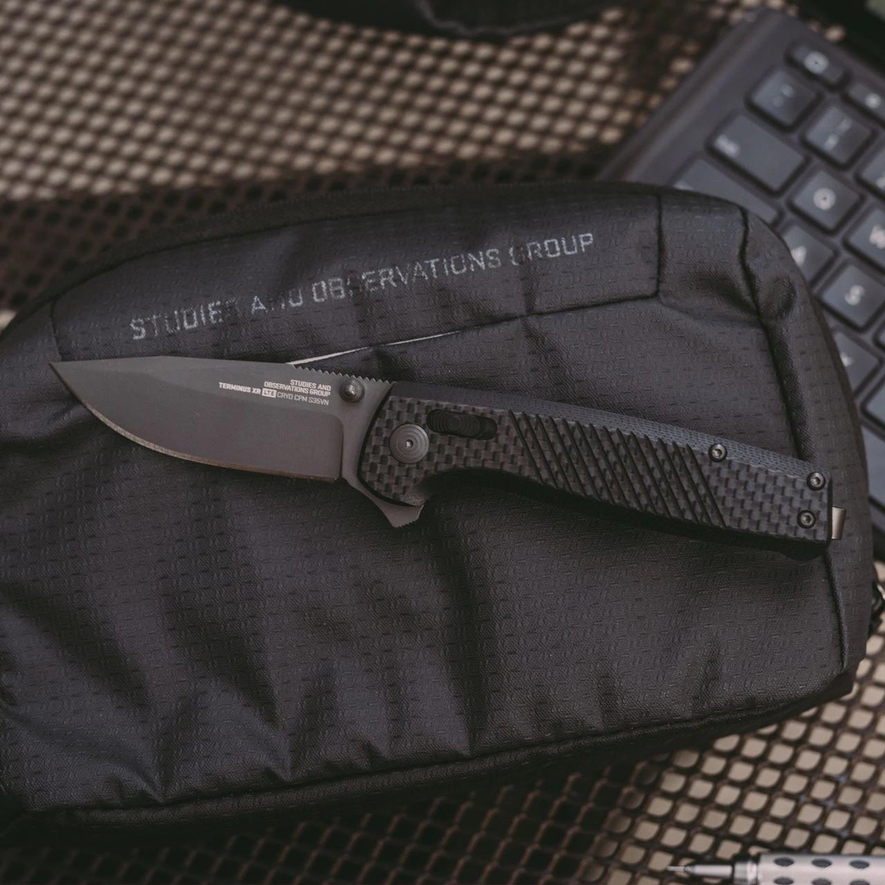 sog knives terminus lte folder knife pocket knife cpm s35vn blade