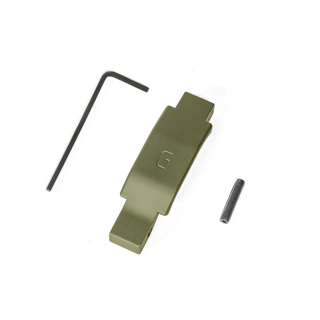 geissele automatics enhanced trigger guard ar-15 od green super duty