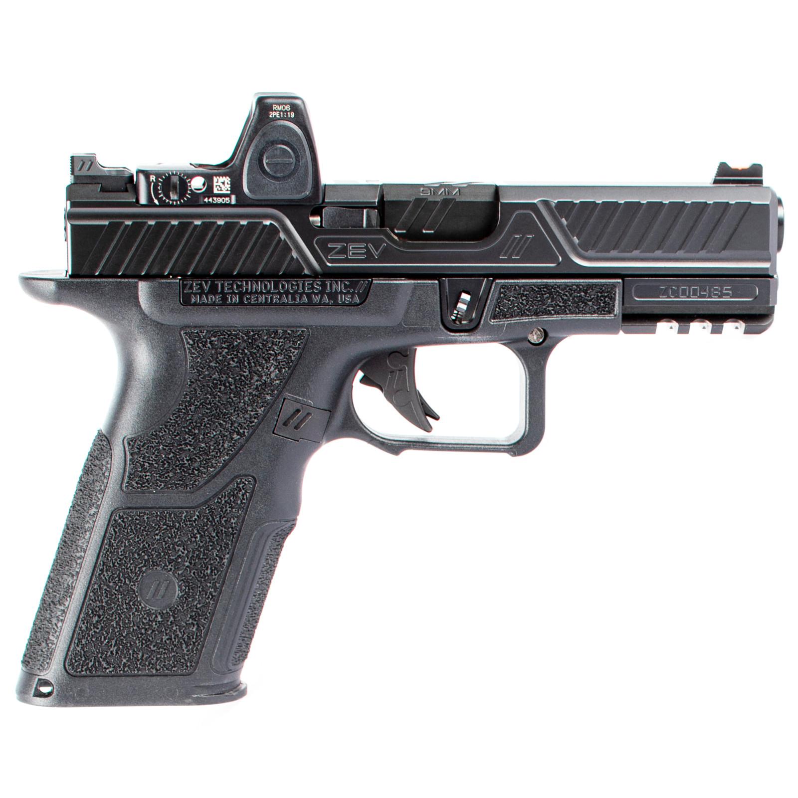 zev technologies oz9c x combat pistol glock pattern 9mm