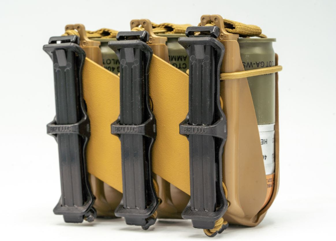 RE FACTOR TACTICAL TEAMS UP WITH BLACK POINT TACTICAL IN LAUNCHING NEW 40MM GRENADE POUCH